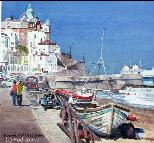 The Rod Jones Online Gallery - East Beach, Cromer Watercolour and Gouache